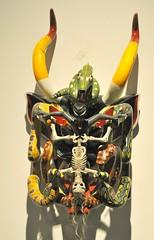 Michoacan Mexico Devil Mask Skeleton (Teyacapan) Tags: horta tocuaro michoacan mexican masks mascara diablo devil skeletons artesanias crafts