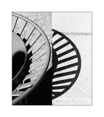 double wheel (Armin Fuchs) Tags: arminfuchs abstract light shadow wheel contrast 6x7 niftyfifty grain
