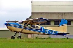 SE-FRF   Cessna 185D Skywagon [185-0909] Kemble~G 02/07/2005 (raybarber2) Tags: 1850909 abpic airportdata cn1850909 egbp filed flickr planebase raybarber sefrf single swedishcivil
