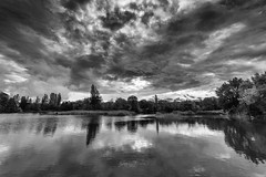 Lac Saint-André (Jacques Isner) Tags: lacsaintandré isère lac ciel cloud mirroir pentax pentaxart pentaxflickraward pentaxk1 samyang14mm samyang
