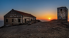 abandoned (mlk.dahoui) Tags: sunset surdes portugal nikon d750 europe view landscape seascape sky blue sun sunny summer beauty abandoned coast atlantic ocean windows old photographer photography picture horizon desert buildings travel trip evening nikonflikraward