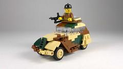 Peugeot 202 (Rebla) Tags: lego ww2 wwii world war 2 ii french car peugeot 202 update rebla