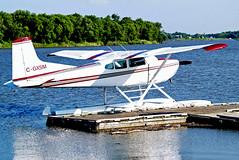 C-GXSM   Cessna A.185F Skywagon 185 [185-03430] Selkirk~C 25/07/2008 (raybarber2) Tags: 18503430 airportdata cn18503430 canadiancivil cgxsm ckl2 filed flickr floatplane planebase raybarber single
