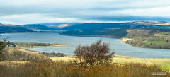 "Struie Hill view of the Dornoch Firth and Kyle of Sutherland, beyond, Easter Ross. (Scotland by NJC.) Tags: coastline 海岸线 litoral côte küste linea costiera 海岸線 해안선 seashore coast shore seaboard seaside beach strand forest woodland plantation trees ""bosque grande"" metsä forêt wald δάσοσ foresta skog las pădure hill تَلّ colina 小山 colline hügel λόφοσ collina 丘 เขาเตี้ยๆ tepe coğrafya пагорб đồi farmland grazing dornochfirth bonarbridge struiehill tain easterross scotland"