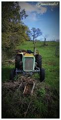 Quelque chose d'humain... (jamesreed68) Tags: old tracteur campagne 68 hautrhin alsace paysage nature