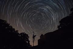 Castle Helfštýn (Petr Vodak) Tags: astro morava noční helfštýn night castle stars hrad helfstyn hefaiston hvězdy nocni starstrail hvezdy hvezdnedrahy