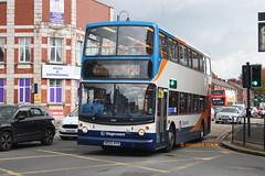 Stagecoach Manchester 18360 (MX55 KPN) (SelmerOrSelnec) Tags: stagecoachmanchester dennis trident alexander mx55kpn denton crownpoint bus