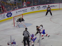 Hershey Bears vs Laval Rocket (Quevillon) Tags: lavalrocket rocketdelaval americanhockeyleague ligueaméricainedehockey placebell icehockey arena hersheybears canada québec laval chomedey
