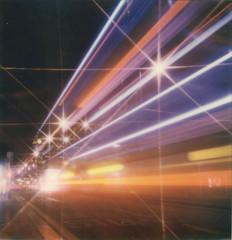 Stars and Stripes (Ray Liu Photography) Tags: longexposure polaroid lighttrails instantphotography film roidweek polaroidweek