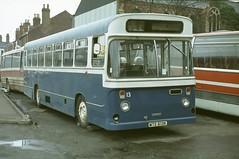MTE 613K: formerly Lancaster City Transport 13 (chucklebuster) Tags: mte613k seddon pennine ru lancaster city transport morecambe heysham corporation sheriff star tours