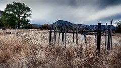 Old Cemetey in Abiquiu (LDMcCleary) Tags:
