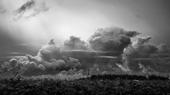 Formation nuageuse (Nitro76210) Tags: ciel nuages noirblanc normandie sky clouds