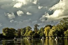 Magnac Sur Touvre (ljeanlucn) Tags: groupenuagesetciel rivière passerelle magnac sur touvre charente 17 nuage ciel nature