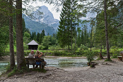 Enjoying Hinterstoder (lebre.jaime) Tags: austria upperaustria hinterstoder nature mountain river trees people nikon d600 nikkorafs1735f28d digital fullframe ff fx affinityphoto