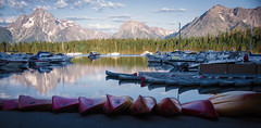 Boat Ride (The Mr and The Mrs) Tags: moranwy wyoming tetons mountains grandtetons explore travel boats breakfastcruise colors beauty nikondf national parks outside fun naturephotography natur life