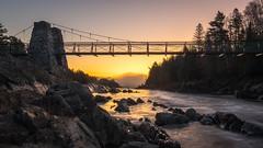 Morning Glow (Paul Domsten) Tags: jaycooke jaycookestatepark pentax minnesota river swingingbridge bridge statepark sunrise stlouisriver