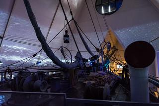 The deck of Fram