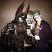 Steampunk Bat-Man and the Joker