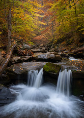 Autumn in the Catskills (RyanKirschnerImages) Tags: cascade autumn foliage landscape catskills newyork ny longexposure
