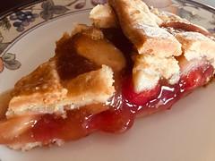Pie Anyone ? (Mr. Happy Face - Peace :)) Tags: foodieart art2019 yummy cherry apple vegan dessert sweet fruit macromondays
