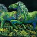 Topiary Horses-Discussing Colored Shadows