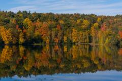 Autumn on the Ausuable (Bill VanderMolen) Tags: fall autumn fallcolor michigan ausauble