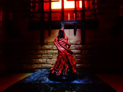 """""""And Darkness and Decay and the Red Death held illimitable dominion over all."""" (ridureyu1) Tags: themasqueofthereddeath edgarallenpoe legendaryadventures wraith pathfinder paizo dungeonsdragons dd dungeonsanddragons tsr wizardsofthecoast wotc rpg roleplayinggame gygax arneson toy toys actionfigure toyphotography sonycybershotsonycybershotdscw690"""