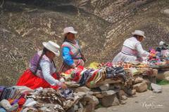 High altitude shoping (marko.erman) Tags: peru patapampapass latinamerica southamerica travel highaltitude souvenirs women tourists traditionalcostumes sony