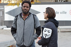 170155-0133 (felixfortheanimals) Tags: anonymous voiceless cube truth montreal animal activism
