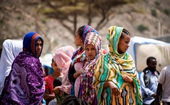 Afar Women (Rod Waddington) Tags: africa african afrique afrika äthiopien afar tribe traditional tribal women group market culture cultural ethiopia ethiopian ethnic ethnicity etiopia ethiopie etiopian