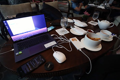 Asus Vivobook X412 laptop (_gem_) Tags: philippines metromanila manila taguig bgc shangrilaatthefort hotel snacks tech laptop computer