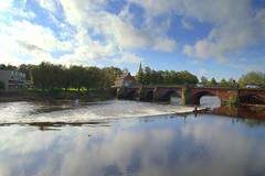 Serene river at Chester (Tony Worrall) Tags: scenery scenic cheshire chester scene beauty reflections wetreflection wet water riverside river calm clouds weather english british location place visit buy new sell sale bought item stock ilobsterit instagram shimmer nice riverdee county landscape serene