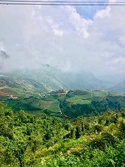 Sapa Vietnam O Quy Ho pass (lmn.mathilde) Tags: outdoor sapa travel vietnnam travelling countryside viex best view new colors sun ligh light clouds mountains photography smartphone fog nature natural landscape escape weekend trip tripping ricefield top pass riding motorbike
