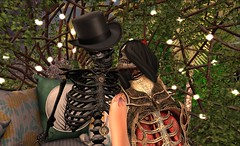 Forever Kind Of Love (mia_clowd) Tags: halloween couple avatar secondlife