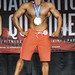 Mens Physique Junior 1st #107 Antonio Silva