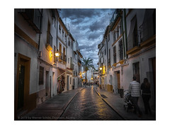 Streets of Cordoba (My digital Gallery) Tags: cordoba andalusia europe spain eu abend dämmerung dusk latern street