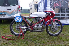 Ducati Seeley? 350cc OHC (Michel 67) Tags: moto motorcycle motorbike motorrad motocicleta motociclette ancienne classic classik clasica antigua vecchia vintage