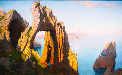 Natural Arch at Capri (Thomas Hawk) Tags: america dc districtofcolumbia museum nationalgalleryofart naturalarchatcapri usa unitedstates unitedstatesofamerica washingtondc williamstanleyhaseltine washington