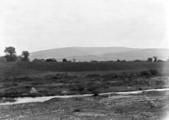View of County Dublin Mountains, including a tram, Terenure, Co. Dublin (National Library of Ireland on The Commons) Tags: eason easonson easoncollection easonphotographiccollection glassnegative 20thcentury nationallibraryofireland dublinmountains terenure hellfireclub stream tram