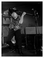 Hipbone Slim - Le Gibus 20/10/19 (Saba Maki) Tags: rock live concert gig music musician guitar noiretblanc blackwhite blackandwhite noirblanc