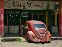 Alcatraz (Beegee49) Tags: street car volkswagen beetle old happyplanet sony a6400 bacolod city philippines asia asiafavorites