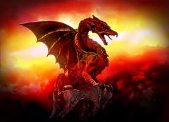 The Guardian (g017 - g017.deviantart.com) Tags: art digital digitalart dragon spectacular fantasy epic netartii