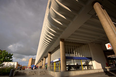 Preston Bus Station overhang (Tony Worrall) Tags: preston prestonbusstation brutal concrete architecture building curves lines shapes fun images lancashire lancs space location item buy sell sale bought stock forsale birthday 50 british venue travel open great england ilobsterit instagram attraction council county country modern new huge overhang