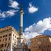 Rome - Rione IV Campo Marzio - Piazza Mignanelli - Colonna dell'Immacolata