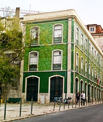 Typical Lisbon building, recently restored (2019)