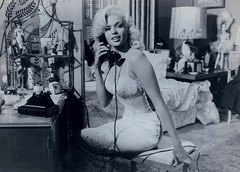 Jayne Mansfield (poedie1984) Tags: jayne mansfield vera palmer blonde old hollywood bombshell vintage babe pin up actress beautiful model beauty girl woman classic sex symbol movie movies star glamour hot girls icon sexy cute body bomb 50s 60s famous film kino celebrities pink rose filmstar filmster diva superstar amazing wonderful american love goddess mannequin tribute blond sweater cine cinema screen gorgeous legendary iconic black white lippenstift lipstick kiss them for me 1957 jurk dress busty boobs décolleté phone telefoon