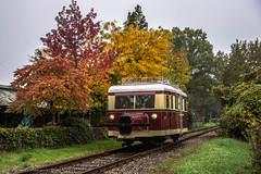 MBS railbus, Boekelo (cellique) Tags: mbs wismar railbus schienenbus najaarsstoomdag boekelo spoorwegen museumbuurtspoorweg museumtrein treinen railway rail eisenbahn zuge