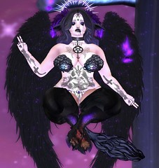 As above, so below. As within, so without. As the universe, so the soul. (Nepharaxia) Tags: asabovesobelow love pagen black satanic baphomet halloween gothic sl secondlife