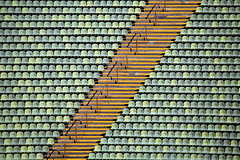 sonic shades (pixiespark) Tags: olystadion olympicstadiummunich sunlight sonnenlicht shades schatten notes noten seats sitzplätze rows reihen stairs treppe colours farben munich münchen sonicshades