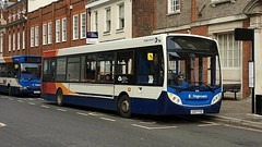 Stagecoach South 36016 (GX07 FXD) Chichester 21/10/19 (jmupton2000) Tags: gx07fxd alexander dennis enviro 200 dart stagecoach south uk bus southdown coastline sussex